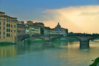 Florence along the River Arno 3
