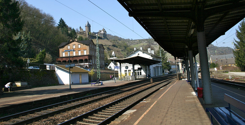 Arriving in Bacharach