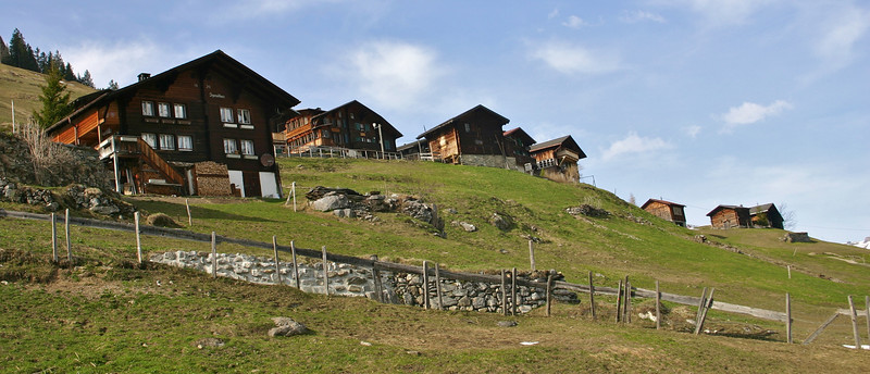 Gimmelwald houses