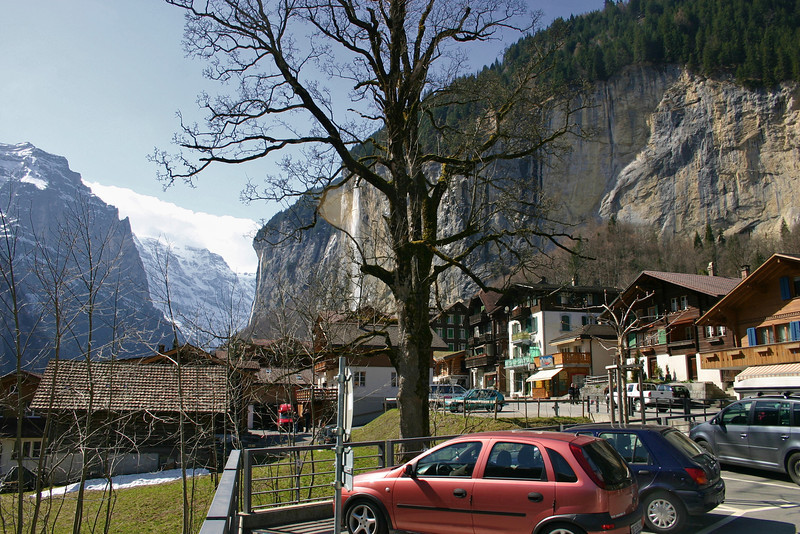 Lauterbrunnen, Switzerland town view!!!