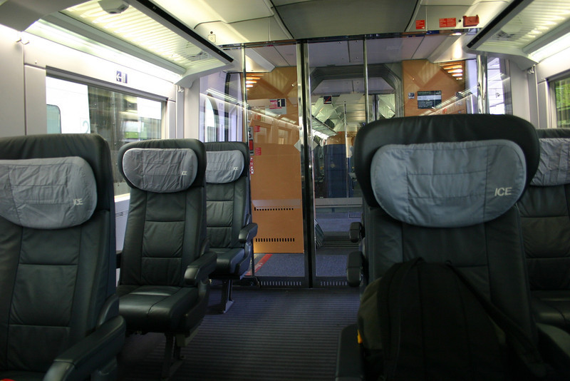 train from Basel to Frankfurt