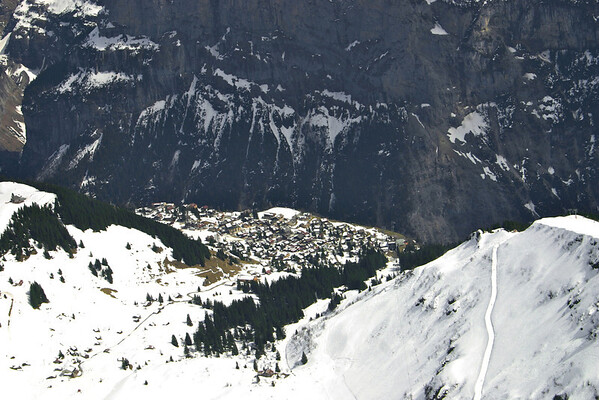 Murren from above!
