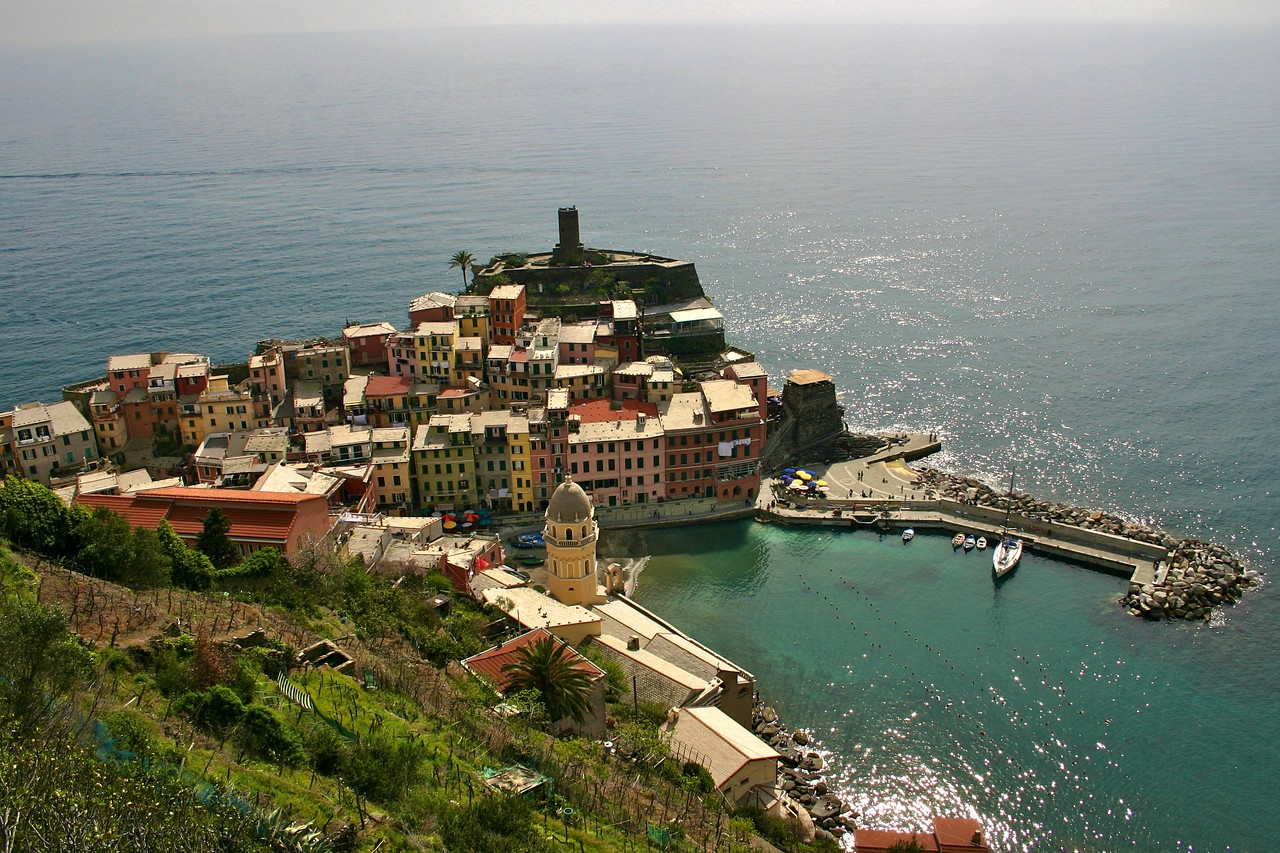 more Vernazza from above!