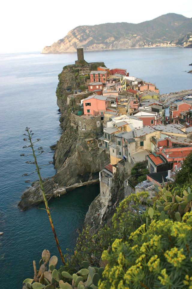 Vernazza from trail to Corniglia 2