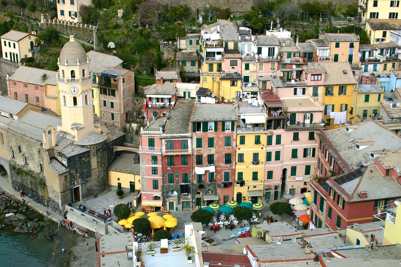 Vernazza from the Castle 3