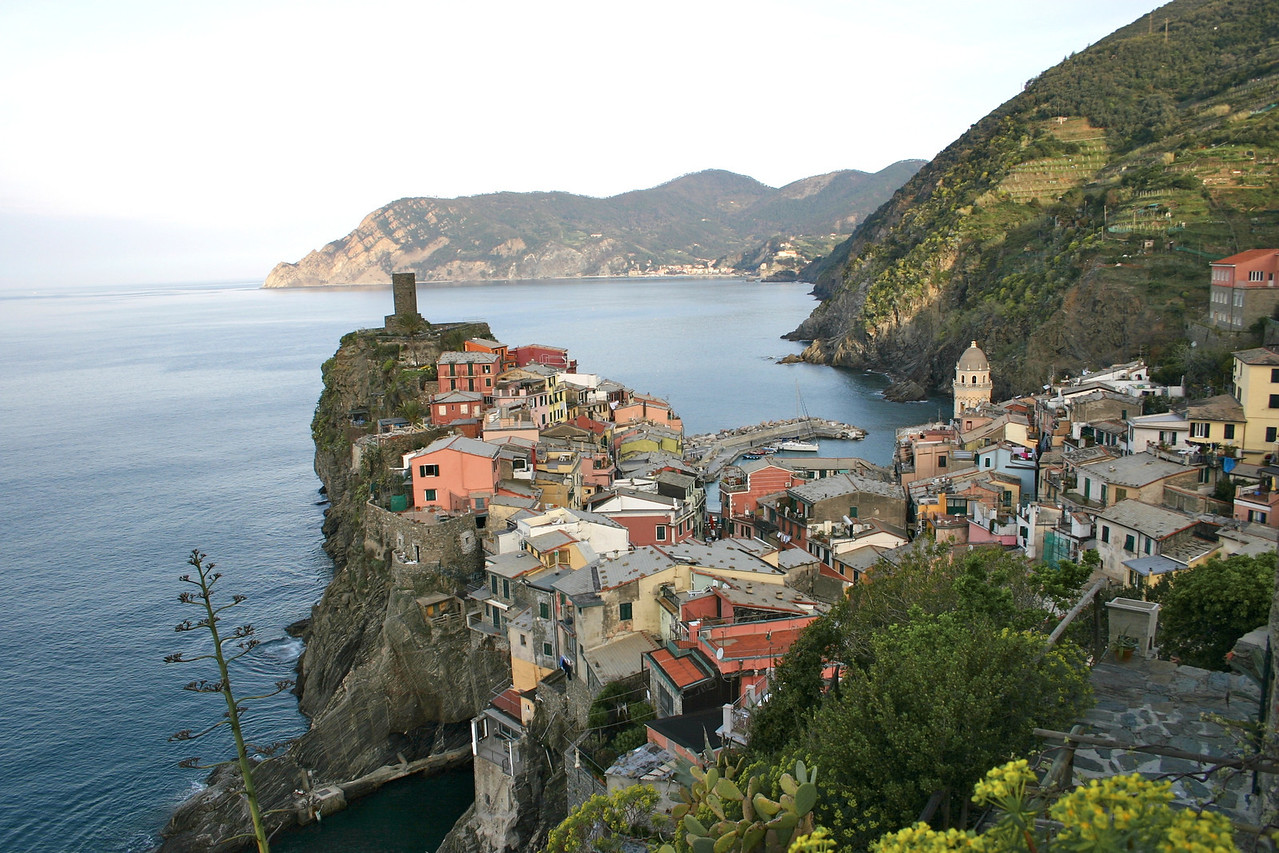 Vernazza from trail to Corniglia 3