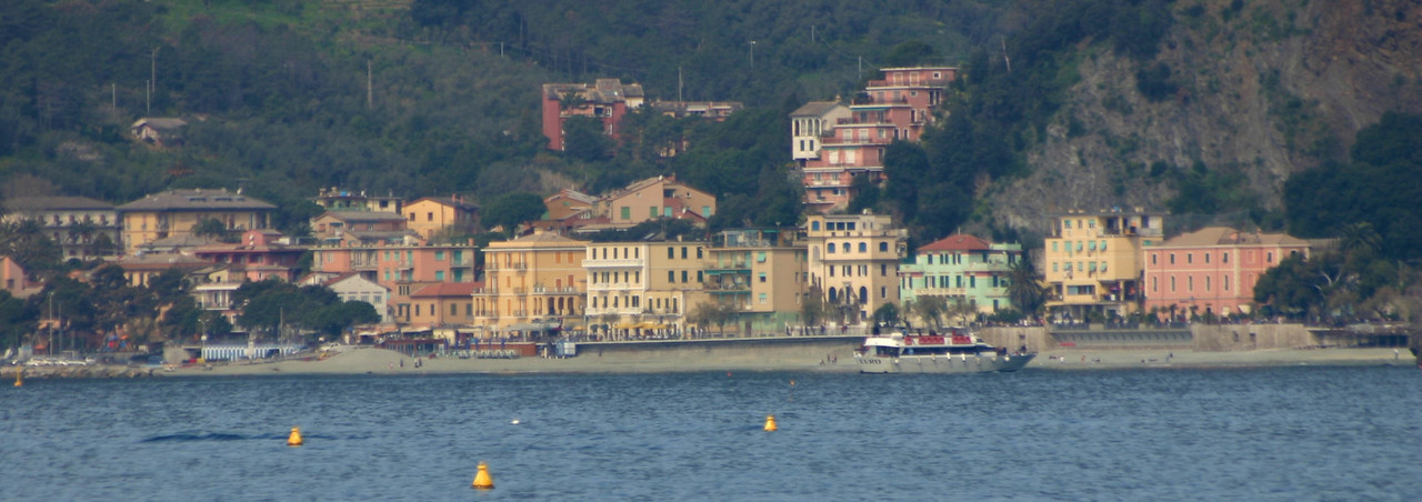 Monterosso as seen from Vernazza