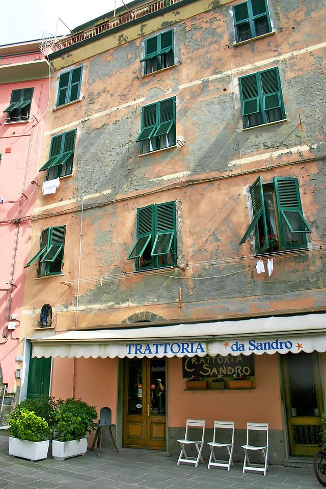Trattoria de Sandro (great dinner there)