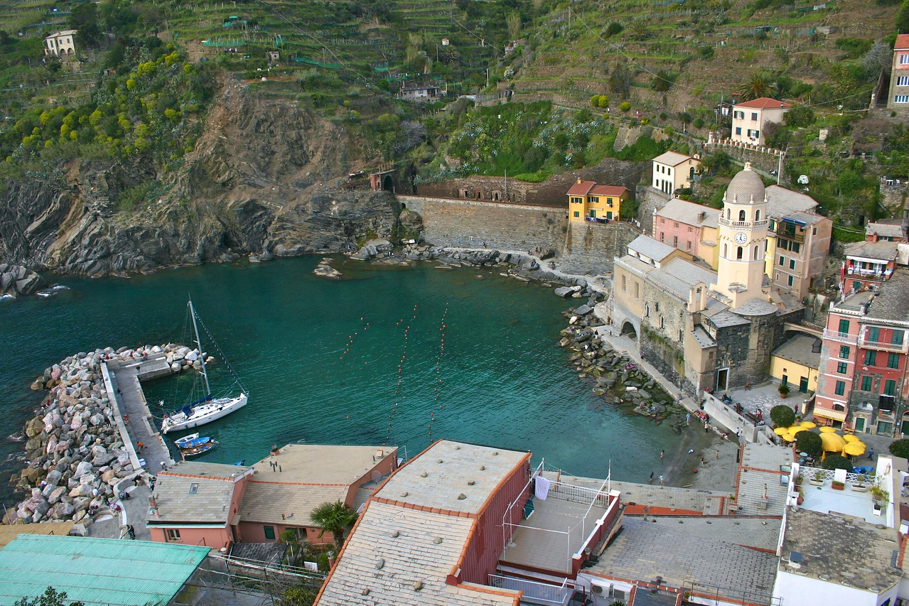Vernazza from the Castle 2