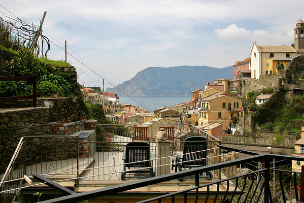 view from Camere Guiliano terrace