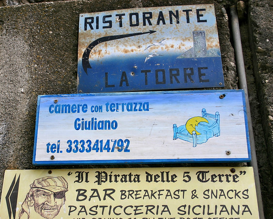 sign for Camere Guiliano (our lodging)