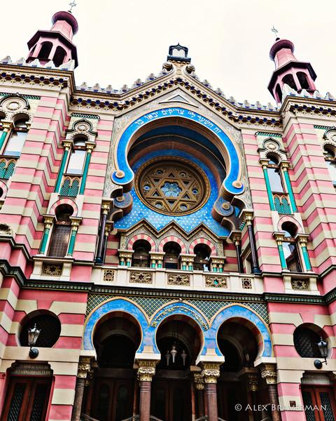Jerusalem Synagogue, Prague #740
