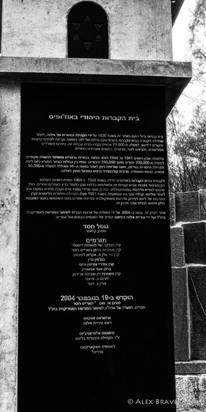 European Jewish Heritage: Vilnius #2254