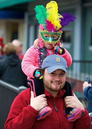 Evansville Mardi Gras Parade