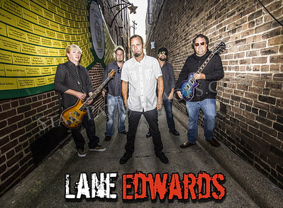 Band Promo Photos with Lane Edwards Band in Greensboro.