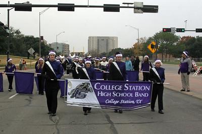B/CS Christmas Parade 12/08/2013