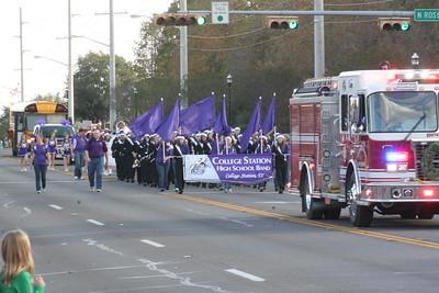 B/CS Christmas Parade 12/02/2012