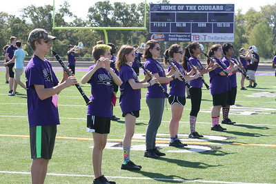 CSHS Band Marching Clinic 10/03/2015