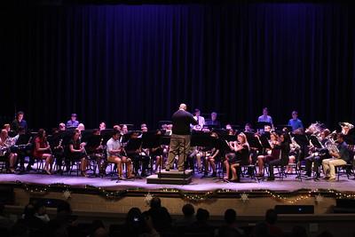 CSHS Concert Bands Christmas Concert 12/18/2017