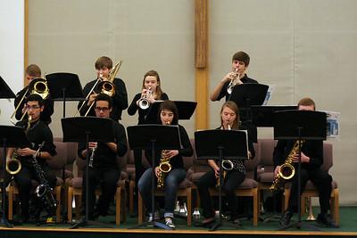 "CSHS Jazz Band ""Mardi Gras"" Performance 02/17/2015"