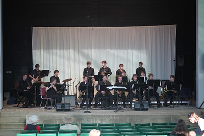 CSHS Jazz Band at First Friday in Downtown Bryan 04/07/2017