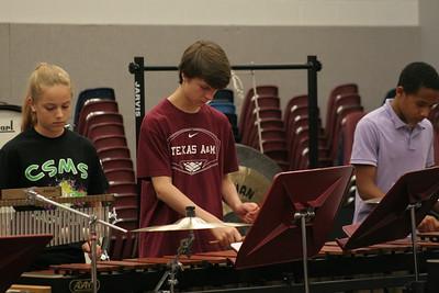 CSHS Percussion Camp 2012