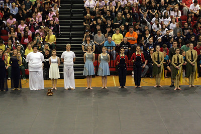 CSHS Winter Guard Contest @ Cypress Lakes HS 02/21/2015