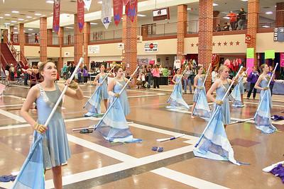 CSHS Winter Guard Contest @ Magnolia HS 03/07/2015