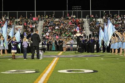CSHS vs. Huntsville HS (Homecoming) 10/17/2014