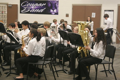 CSMS Band Pre-UIL Concert 04/08/2013