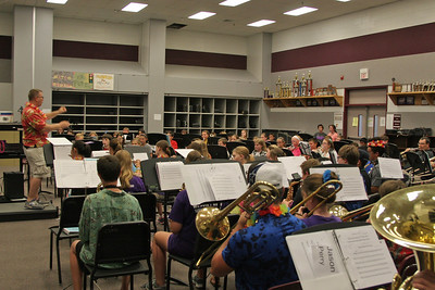 CSMS Summer Band Day 1 08/10/2015
