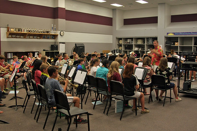 CSMS Summer Band Day 1 08/11/2014