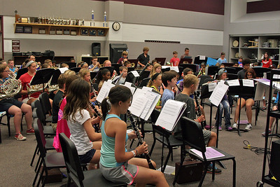 CSMS Summer Band Day 2 08/11/2015
