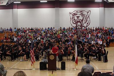 CSMS Veterans Day Ceremony 11/11/2013