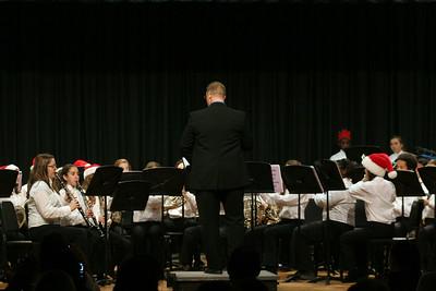 Cypress Grove & CSMS Band Christmas Concert 12/11/2014