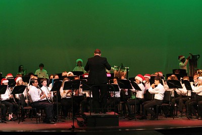Cypress Grove & CSMS Bands Christmas Concert 12/01/2015