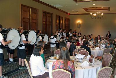 Drumline Performance @ Pebble Creek Country Club 08/14/2013