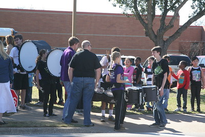 Drumline & Rock Prairie Elementary March 02/01/2013