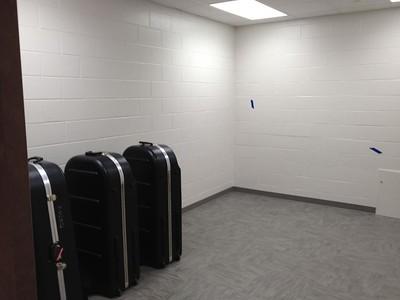 Tuba Storage Room