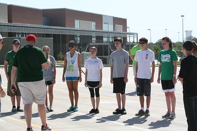 Leadership Team & Percussion 07/30/2012