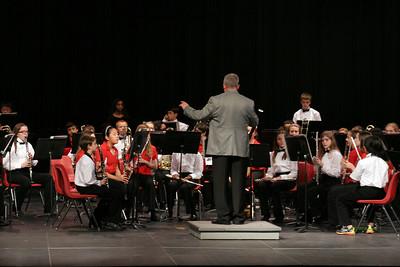 MS All-Region Band Concert @ Belton HS 11/16/2013