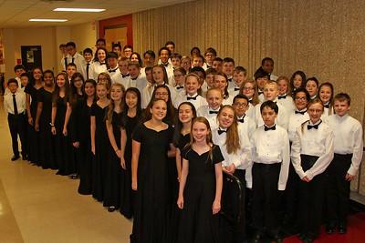 MS Region 8 Band Concert @ Belton HS 11/14/2015