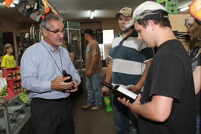 "On Thursday August 30th, 2012 Demp Bell presented Top Secret Deer Scents during a promotion at Posted Hunting and Fishing located in Lawrenceburg, Tennessee. We had a great time and took away some much needed info on ""Hunting the Rut!"". Posted will host the 2013 Seminar on Thursday August 30th, 2013 at 6:00 pm. See ya there!! Photography By Lloyd Kenney III (C) 2012 All Rights Reserved."