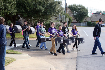 """Rock Prairie """"100th Day of School"""" Parade 01/30/2015"""
