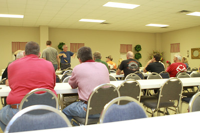 Mr. Don Bell gave a Seminar at Shoals Outdoor Sports on Hunting the Rut and went over his line of Top Secret Deer Scents. Photography By Lloyd R. Kenney III (C) 2012 All Rights Reserved.