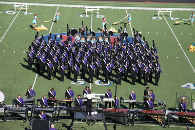 UIL Marching Contest @ Waco Midway HS 10/22/2016