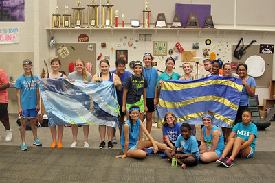 Yellow, Blue, and Purple Team Group Photos 08/08/2014