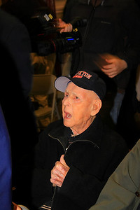 Ret Chief Burrell, last surviving member who worked at the Strand Theatre fire, 97 years old.
