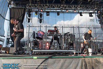Bring Me The Horizon at Fort Rock 2016