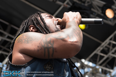 Sevendust at Fort Rock 2016